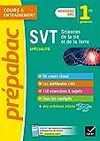 SVT 1re (spécialité) Nouveau programme de Première 2019-2020
