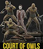 Knight Models Juego de Mesa - Miniaturas Resina DC Comics Superheroe - Batman - The Court of Owls Crew
