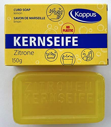 Kappus 3-0123 Kernseife Zitrone je 150gr. Plastic frei (1 Stück)