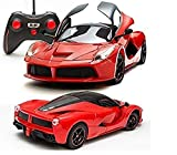 Zest 4 Toyz 1:16 Scale Remote Controlled Ferrari Like Model Sports Car With
