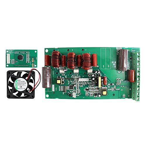 ZBF Controlador de Carga Solar MPPT 60A Tablero de Circuito con Ventilador y luz de Fondo LCD 12V 24V 36V 48V Módulo regulador Solar a estrenar (Current : MPPT 60A)