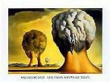 1art1 Salvador Dali - Les Trois Sphinx De Bikini Poster