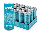 Zenify Zero Sugar All Natural Sparkling Calming Stress Relief Beverage, Formula with L-Theanine, GABA, Vitamin B6, and Glycine, Non-GMO, Gluten-Free, Vegan, 12 Fl Ounce (Pack of 12)