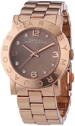 Marc Jacobs Damen-Armbanduhr Analog Quarz Edelstahl MBM3221