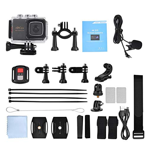 Video Action Camera 4K with Wide Angle Lens HD WiFi...