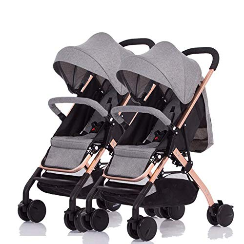 Why Should You Buy YD-zx Double Stroller, Can Be Split, Can Sit and Lie Down and Fold Lightly Foldin...