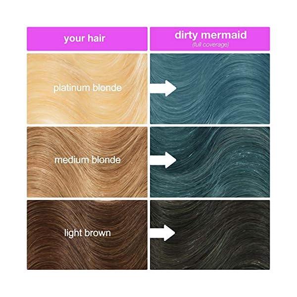 Lime Crime Unicorn Hair Dye, Dirty Mermaid - Seafoam Green Fantasy Hair Color - Full Coverage, Ultra-Conditioning, Semi-Permanent, Damage-Free Formula - Vegan - 6.76 fl oz 8