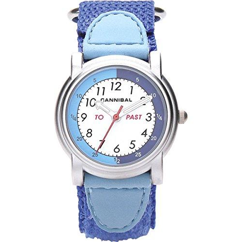 Cannibal CT203-05 - Reloj analógico de Cuarzo Unisex, Correa de Nailon Color Azul