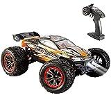 Vatos Coche teledirigido – 46 km/h 4WD RC Auto Off-Road Buggy 1:12 escala 2,4 GHz control remoto eléctrico todoterreno regalo juguete para niños adultos (naranja)