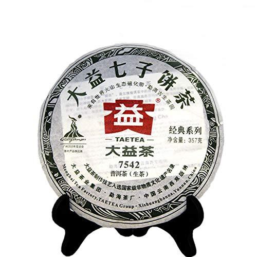 357g (0.787LB) alt pu-erh Tee Sheng puer Yunnan roh puerh Tee Gesundheit Grünes Essen Puer Tee Pu'er Tee Kuchen Grüner Tee Chinesischer Tee Pu er Tee Roher Tee Alte Bäume Pu erh Tee