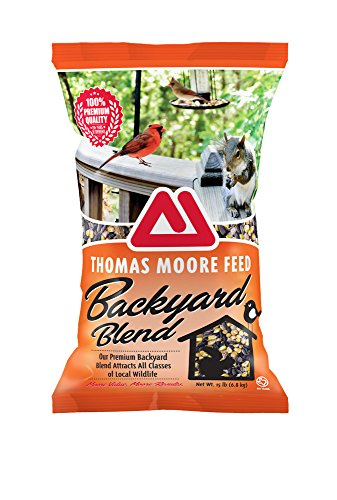 Tmf Quality Backyard Blend For Squirrels And Backyard Animals, 15 Lb.