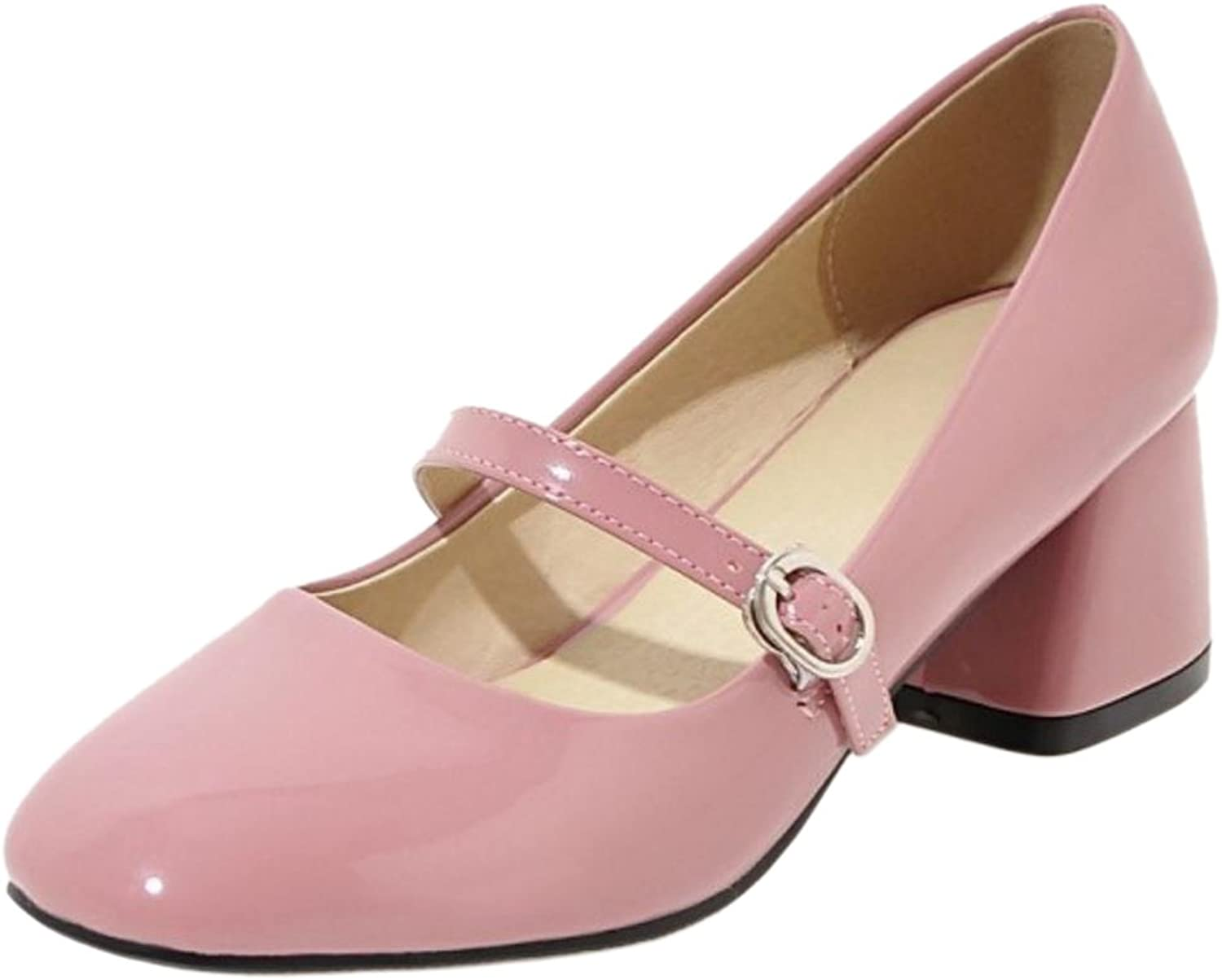 TAOFFEN Women's Spring Mary Jane shoes