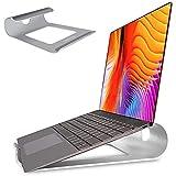 Soporte Portatil, FitOkay Soporte Port¨¢Til Mesa de Aluminio con Ventilaci¨®n, Soporte Ordenador Port¨¢Til para Macbook HP DELL Lenovo y Otros 10-15.6¡± Laptops/Tableta