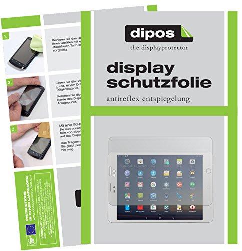 dipos I 2X Pellicola Protettiva antiriflesso Compatibile con Winnovo M798 Tablet PC Pellicola di Protezione