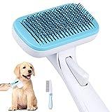 Selbstreinigend Hundebürste - Haustier Bürsten Katzenbürste Hundebürste für Kurzhaar Langhaar Ideal für Haustiere Entfernen Sie den Täglichen Fellschmutz für Eine Gute Gesundheit und Schönheit