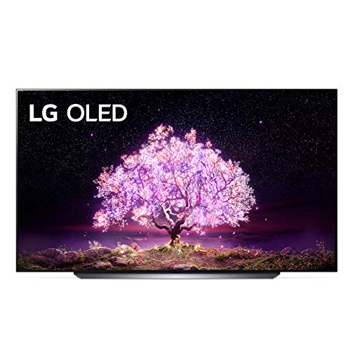"LG OLED83C14LA Smart TV 4K 83"", TV OLED Serie C1 2021 con Processore α9 Gen4, Dolby Vision IQ, Wi-Fi, webOS 6.0, FILMMAKER MODE, Google Assistant e Alexa Integrati, 4 HDMI 2.1, Telecomando Puntatore"