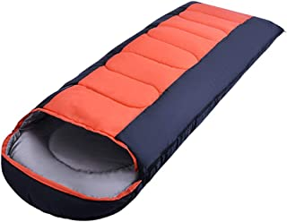 Camping Sleeping Bag Thick Warm for Adult Couple - Waterproof Envelope Sleeping Bag Lightweight Sleepover Travel Outdoor Festival Hiking Zhhlinyuan