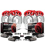 Power Stop KC1302A 1-Click Performance Brake Kit with Caliper