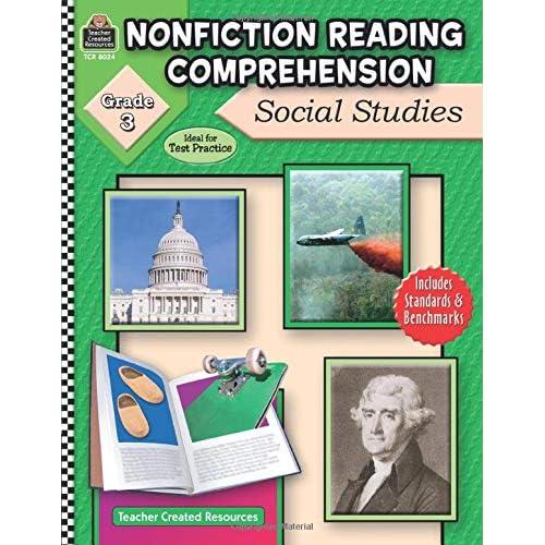 Nonfiction Reading Comprehension: Social Studies, Grade 3: Social Studies, Grade 3