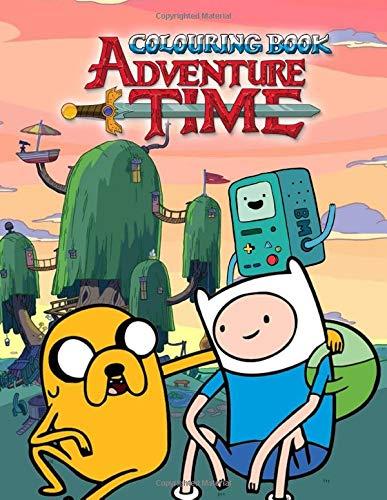 Adventure Time Colouring Book: Jumbo Colouring Book: Hora de Aventuras