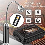 Lampe de barbecue en plein air avec base magnétique Bendable Flashlight BBQ Reading...