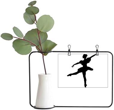 Dance Dancer Ballet Art Sports Metal Picture Frame Ceramic Vase Decor