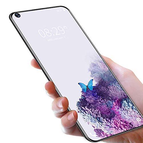 Telephone Portable 4G, OUKITEL C21 (2020) Smartphone Débloqué 64Go +4Go,Ecran 6,4 Pouces, Double Nano SIM, 4000 mAh,16MP/ 20MP Quatre Caméra, Android 10.0,Fingerprint, Noir