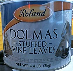 powerful Roland Foods Dolma Canned grape leaves, rice and spices, imported delicacies, 4 …