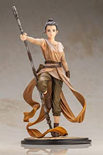 STAR WARS REY ARTIST SERIES DESCENDANT OF LIGHT ARTFX STATUE