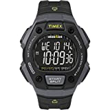 Timex Men's Ironman Classic 30 Full-Size Quartz Sport Watch with Resin Strap, Black, 18 (Model: TW5M18700)