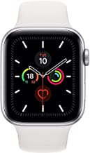 Apple Watch Series 5 44mm Silver AL White Sport Band (GPS+Cell) Model A2157