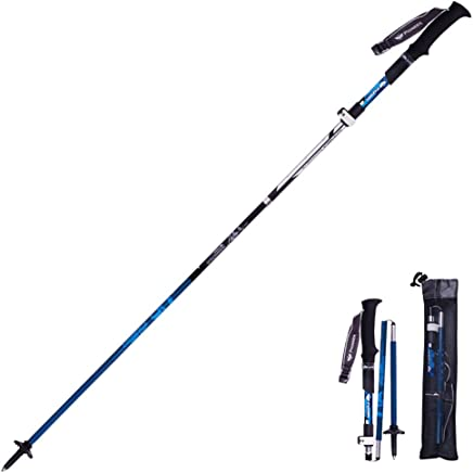 featured product FLAMROSE Trekking Poles – Lightweight, Quick Lock, Detachable Wristband, for Hiking, Walking, Backpacking and Snowshoeing, Folding Sticks