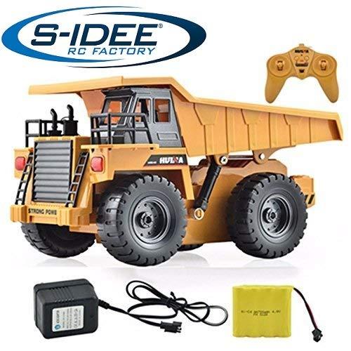 S de Idea® S1540RC Kipper 6Canal autovolquete Camión Truck 1: 18con 2,4GHz kippbare ladefläche huina 1540