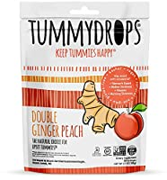 tummy drops-Double Ginger Peach(タミードロップスージンジャーピーチキャンディー)  30粒入り
