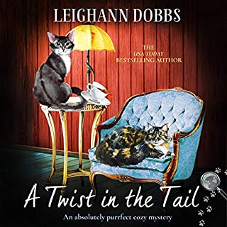 A Twist in the Tail: An Absolutely Purrfect Cozy Mystery audiobook cover art