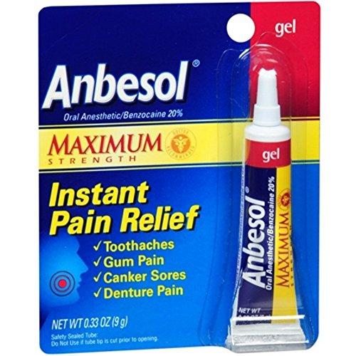 Anbesol Gel Maximum Strength 0.33 oz