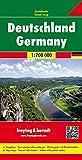 Deutschland, Autokarte 1:700.000, freytag & berndt Auto + Freizeitkarten - Freytag-Berndt und Artaria KG