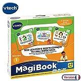 VTech - Livre MagiBook - Mes premiers apprentissages Niveau maternelle - Pack de 3 livres, livres éducatifs