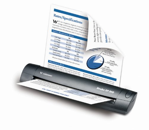 Fantastic Prices! Visioneer Strobe XP 300 Duplex Mobile Scanner PDF Twain (SXP3005D-WU)
