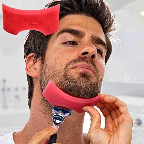 Nekmate (Front Version) Beard Neckline Shaving...