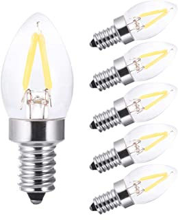 led Night Light Bulbs,Refrigerator Indicator Light,Led Mini Light,C7 1W Edison