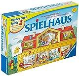 Ravensburger 21424 - Spielhaus - Kinderspielklassiker, spannende Bilderjagd für 2-4 Spieler ab 4 Jahren