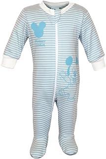4d88f5d5ab Jungen Baby-Strampler Bio-Baumwolle von Mickey Mouse in GRÖSSE 56, 62,