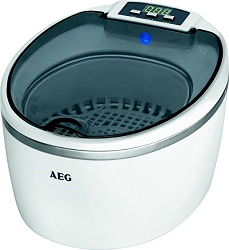 AEG USR 5659 Limpiador Por Ultrasonidos, 50 W, Blanco