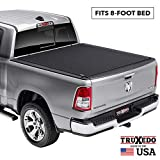 TruXedo Pro X15 Soft Roll Up Truck Bed Tonneau Cover | 1448901 | fits 09-18, 19-20 Classic Ram 1500, 2500, 3500 8' bed