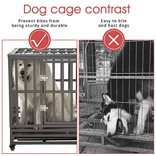 SMONTER Heavy Duty Dog Cage