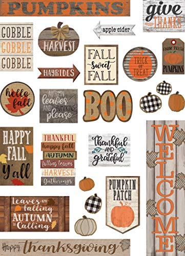 Teacher Created Resources Home Sweet Classroom Happy Fall Mini Bulletin Board (TCR8734)