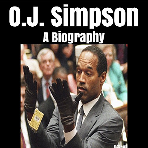 O.J. Simpson audiobook cover art