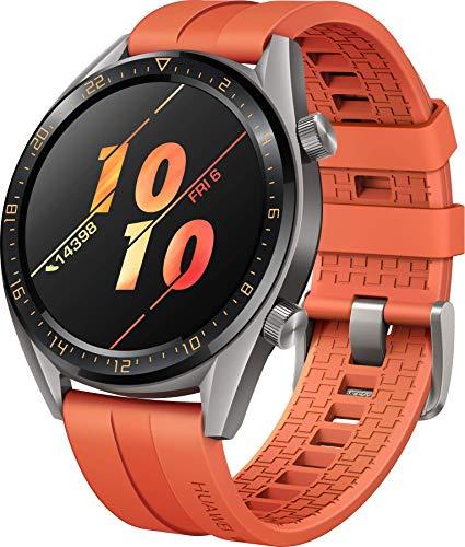 Huawei Watch GT Active Smartwatch (46 mm Amoled Touchscreen, GPS, Fitness Tracker, Herzfrequenzmessung, 5 ATM wasserdicht) Orange - 2