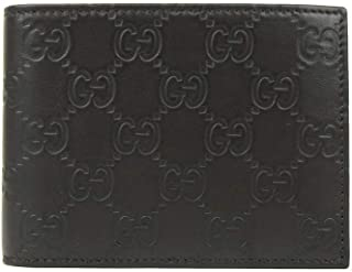 1b1b46cafead3 Gucci Men s Dark Brown Leather Bi-fold Wallet 333042 2044